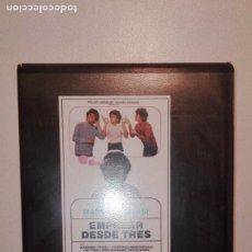 Cine: EMPEZAR DESDE TRES - MASSIMO TROISI - 1984 COLECCIONISTAS DE CINE BETA ORIGINAL MUY RARA. Lote 152229790