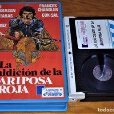 Cine: LA MALDICION DE LA MARIPOSA ROJA - BEE ANDERSON - BO TARAS - BETAMAX. Lote 152231330