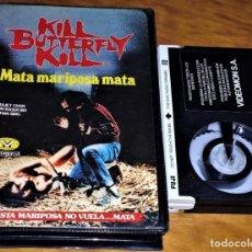 Cine: KILL BUTTERFLY KILL . MATA MARIPOSA MATA . TERROR - BETAMAX. Lote 152231770