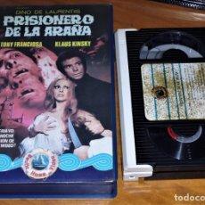 Cine: PRISIONERO DE LA ARAÑA . KLAUS KINSKY , ANTHONY FRANCIOSA . TERROR - BETAMAX. Lote 152232570