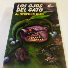 Cine: LOS OJOS DEL GATO BETA - STEPHEN KING - 1ª EDICIÓN FILMAYER - TERROR. Lote 152480977