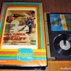 Cine - UNA TUMBA PARA EL SHERIFF . WESTERN - BETAMAX - 152732218