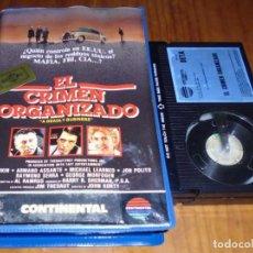 Cine: EL CRIMEN ORGANIZADO - ALAN ARKIN, ARMAND ASSANTE, JON POLITO - BETA. Lote 152759634