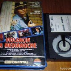 Cine: VIOLENCIA A MEDIANOCHE - DEBBIE REYNOLDS - BETA. Lote 152760150