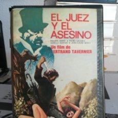 Cine: EL JUEZ Y EL ASESINO - BERTRAND TAVERNIER. Lote 153429889