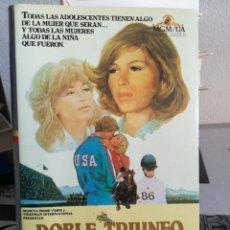 Cine: DOBLE TRIUNFO - REGALO TRANSFER. Lote 153433080