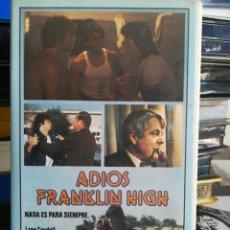 Cine: ADIOS FRANKLIN HIGH - REGALO TRANSFER - UNICA EN TC. Lote 153445840
