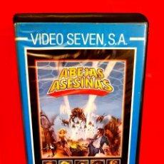 Cine: ABEJAS ASESINAS (1978) - ALFREDO ZACARIAS, JOHN CARRADINE. ESTUCHE VIDEO SEVEN. Lote 154166098