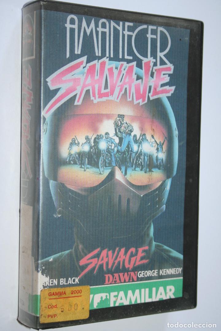AMANECER SALVAJE *** PELÍCULA BETA ACCIÓN / SUSPENSE *** SOAPAR (1986) (Cine - Películas - BETA)
