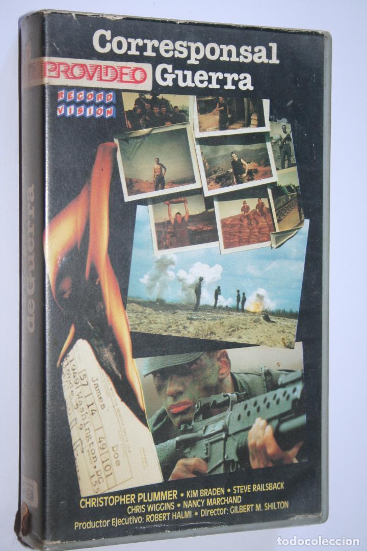 CORRESPONSAL DE GUERRA *** PELÍCULA BETA INTRIGA / SUSPENSE *** RECORD VISION (1987) (Cine - Películas - BETA)