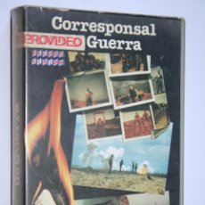 Cine: CORRESPONSAL DE GUERRA *** PELÍCULA BETA INTRIGA / SUSPENSE *** RECORD VISION (1987). Lote 154513078