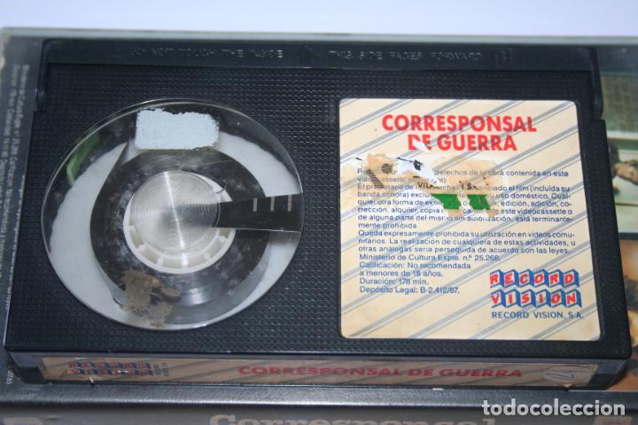 Cine: CORRESPONSAL DE GUERRA *** PELÍCULA BETA INTRIGA / SUSPENSE *** RECORD VISION (1987) - Foto 3 - 154513078