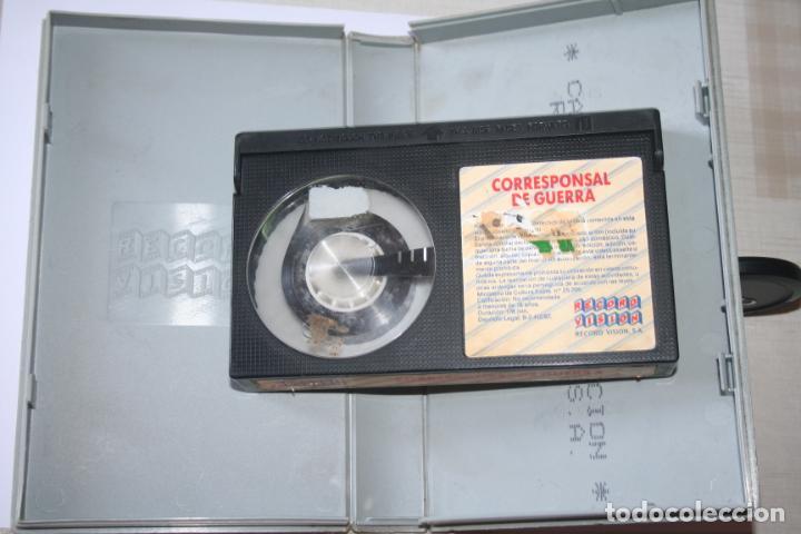 Cine: CORRESPONSAL DE GUERRA *** PELÍCULA BETA INTRIGA / SUSPENSE *** RECORD VISION (1987) - Foto 4 - 154513078