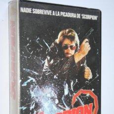 Cine: THE SCORPION *** PELÍCULA BETA ACCIÓN *** CB FILMS (1987). Lote 154598670