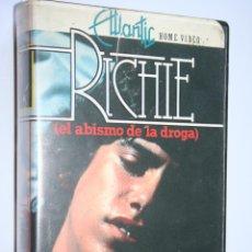 Cine: RICHIE (EL ABISMO DE LA DROGA) *** PELÍCULA BETA DRAMA / ACCION *** ATLANTIC HOME VIDEO (1985). Lote 154644562