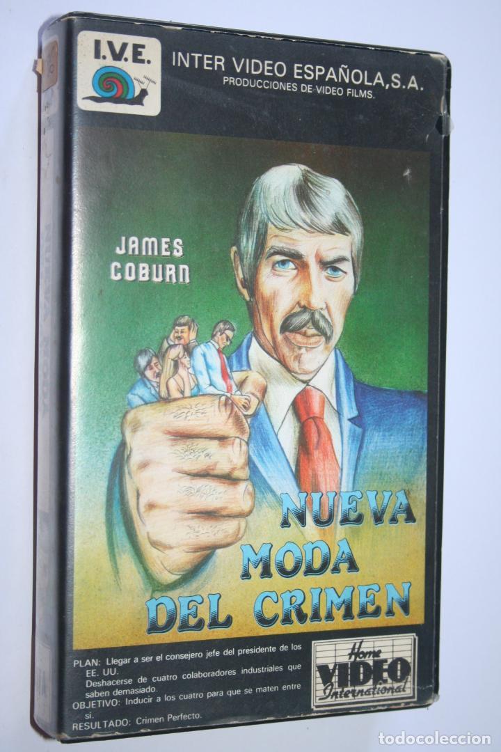 NUEVA MODA DEL CRIMEN *** PELÍCULA BETA *** INTER VIDEO ESPAÑOLA (1985) (Cine - Películas - BETA)