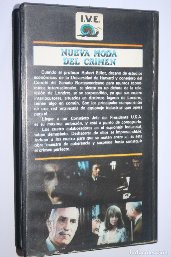Cine: NUEVA MODA DEL CRIMEN *** PELÍCULA BETA *** INTER VIDEO ESPAÑOLA (1985) - Foto 2 - 154652390