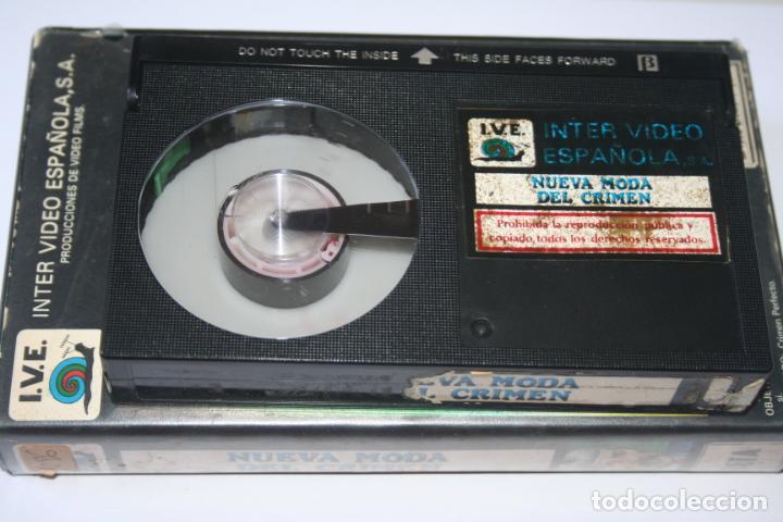 Cine: NUEVA MODA DEL CRIMEN *** PELÍCULA BETA *** INTER VIDEO ESPAÑOLA (1985) - Foto 3 - 154652390