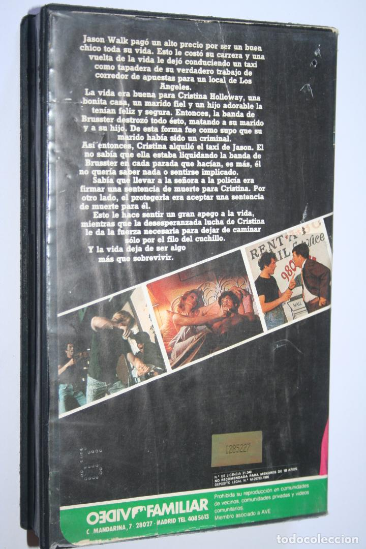 Cine: AL FILO DE LA NAVAJA 2 *** PELÍCULA BETA ACCION *** VIDEO FAMILIAR (1985) - Foto 2 - 154653038