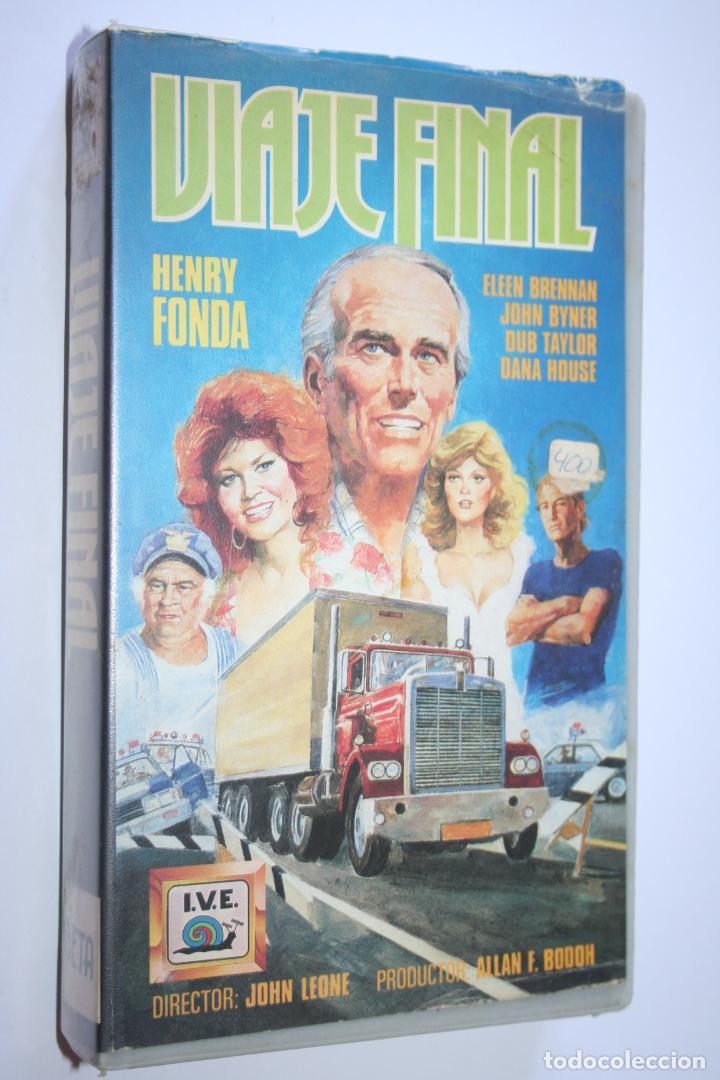 VIAJE FINAL *** PELÍCULA BETA AVENTURA / ACCION *** INTER VIDEO ESPAÑOLA (1985) (Cine - Películas - BETA)