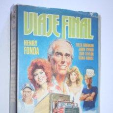 Cine: VIAJE FINAL *** PELÍCULA BETA AVENTURA / ACCION *** INTER VIDEO ESPAÑOLA (1985) . Lote 154653906