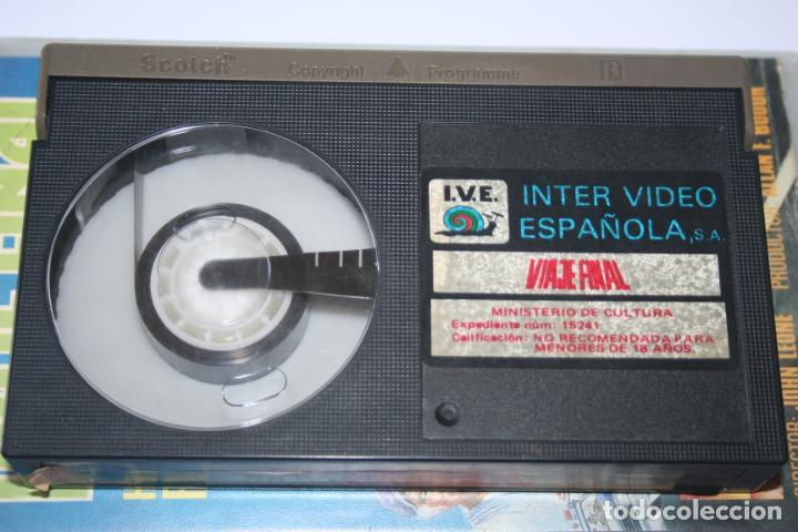 Cine: VIAJE FINAL *** PELÍCULA BETA AVENTURA / ACCION *** INTER VIDEO ESPAÑOLA (1985) - Foto 3 - 154653906