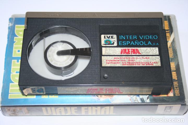 Cine: VIAJE FINAL *** PELÍCULA BETA AVENTURA / ACCION *** INTER VIDEO ESPAÑOLA (1985) - Foto 5 - 154653906