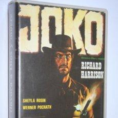 Cine: JOKO (INVOCA A DIOS Y MUERE) *** PELÍCULA BETA WESTERN *** TERRA FILMS (1984). Lote 154654314
