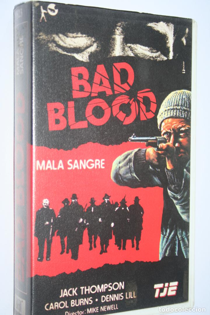 BAD BLOOD *** PELÍCULA BETA ACCIÓN / DRAMA *** TELE JECTOR ESPAÑA (1985) (Cine - Películas - BETA)