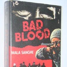 Cine: BAD BLOOD *** PELÍCULA BETA ACCIÓN / DRAMA *** TELE JECTOR ESPAÑA (1985). Lote 154655670