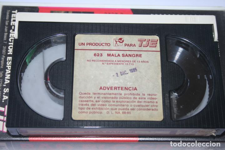 Cine: BAD BLOOD *** PELÍCULA BETA ACCIÓN / DRAMA *** TELE JECTOR ESPAÑA (1985) - Foto 3 - 154655670