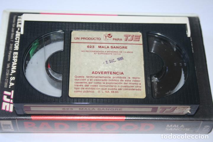 Cine: BAD BLOOD *** PELÍCULA BETA ACCIÓN / DRAMA *** TELE JECTOR ESPAÑA (1985) - Foto 4 - 154655670