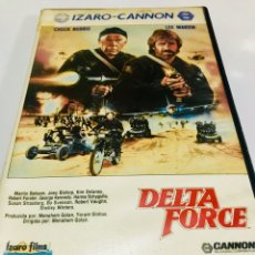Cine: DELTA FORCE BETA - CHUCK NORRIS - LEE MARVIN - CANNON. Lote 154856489