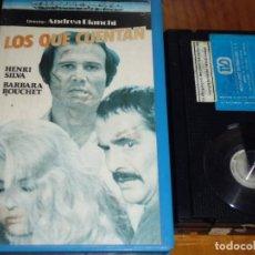 Cine: LOS QUE CUENTAN - HENRY SILVA, BARBARA BOUCHET, ANDREA BIANCHI - BETA. Lote 155306346