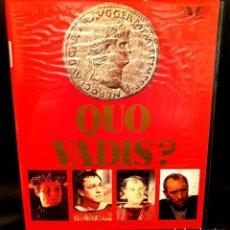 Cine: QUO VADIS (1951) - EDICION LUJO NUNCA EN TODOCOLECCIÓN - OJO BETA. Lote 155536850