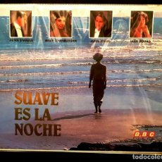 Cine: SUAVE ES LA NOCHE (1985) - PARTE 1 Y 2 - PETER STRAUSS - BETA. Lote 155537686