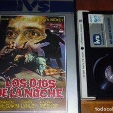 Cine: LOS OJOS DE LA NOCHE - TERROR - VAMPIROS - BETA. Lote 156004722