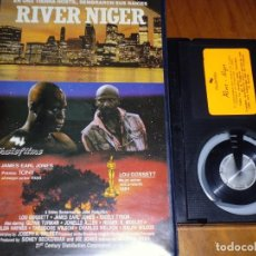 Cine: RIVER NIGER - LOU GOSSETT, JAMES EARL JONES, CICELY TYSON - BETA. Lote 156005070