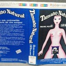 Cine: SOLO CARATULA SIN CINTA - TAMAÑO NATURAL. Lote 156325106