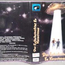 Cine: SOLO CARATULA SIN CINTA - DOS EXTRATERRESTRES DE VACACIONE S- . Lote 156325758