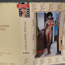 Cine: SOLO CARATULA SIN CINTA - APOCALIPSIS SEXUAL. Lote 156327182