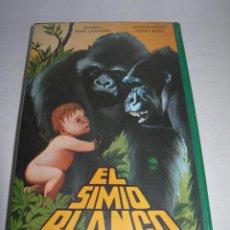 Cine: ANTIGUA PELÍCULA EL SIMIO BLANCO (EL REY DE LOS GORILAS) SISTEMA BETA - BETAMAX - CON CAJA ORIGINAL. Lote 156532142