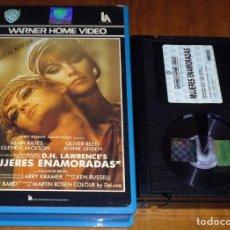 Cine: MUJERES ENAMORADAS - ALAN BATES, OLIVER REED, GLENDA JACKSON - 1ª EDICION WARNER - BETA. Lote 157672574