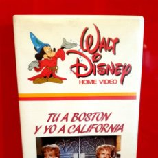 Cine: TU A BOSTON Y YO A CALIFORNIA (1961) - 1ª EDICIÓN WALT DISNEY. Lote 158620090