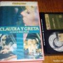 Cine: CLAUDIA Y GRETA . MAX PECAS - BETAMAX. Lote 160333766