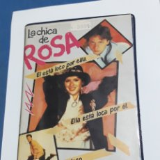 Cine: LA CHICA DE ROSA BETA ORIGINAL. Lote 161947289