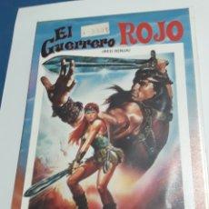 Cine: EL GUERRERO ROJO BETA ORIGINAL. Lote 161948948