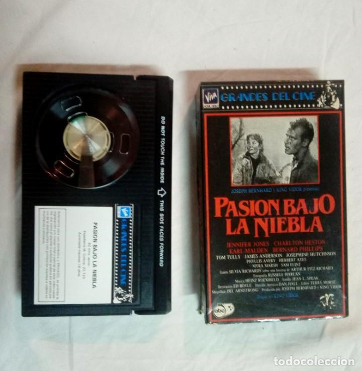 PASIÓN BAJO LA NIEBLA * DIRIGIDA POR KING VIDOR. CON JENNIFER JONES, CHARLTON HESTON (Cine - Películas - BETA)