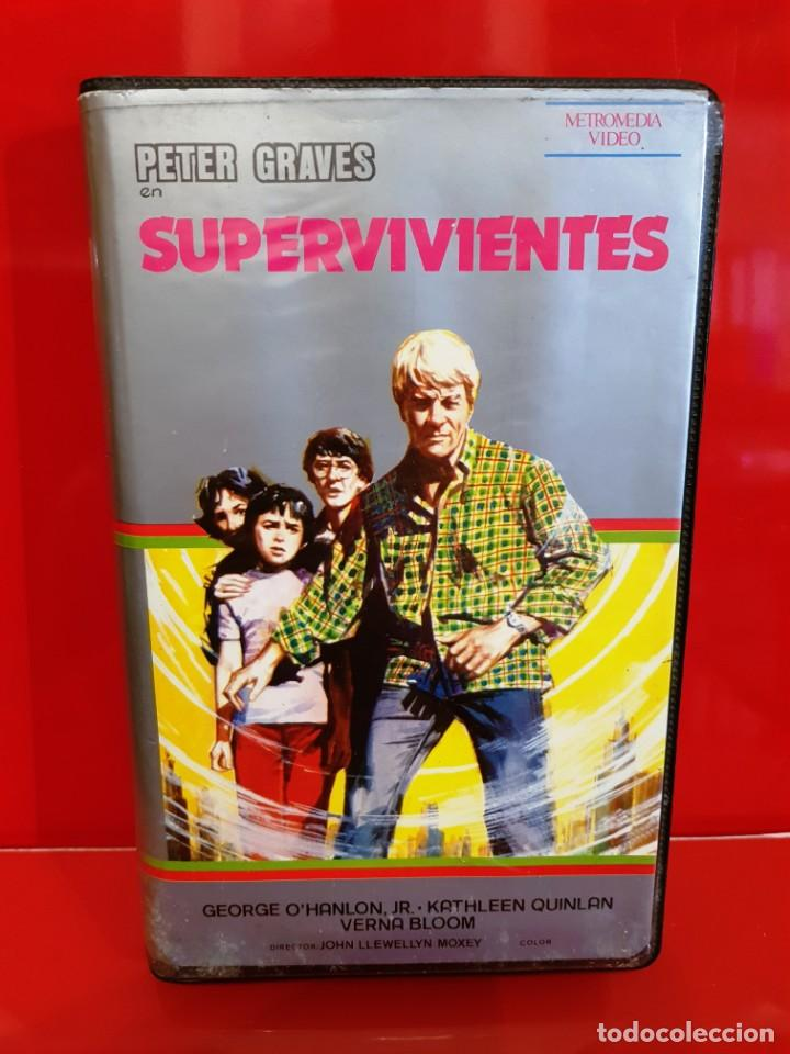 SUPERVIVIENTES - PETER GRAVES - POSTAPOCALYPTICO (Cine - Películas - BETA)