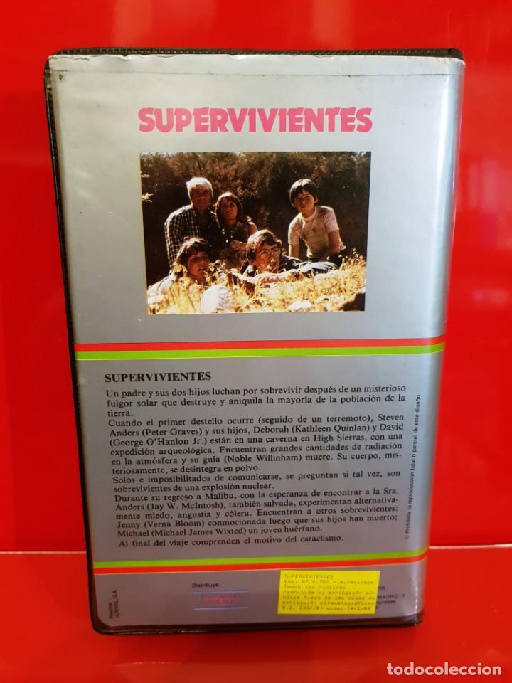 Cine: SUPERVIVIENTES - PETER GRAVES - POSTAPOCALYPTICO - Foto 2 - 163261966